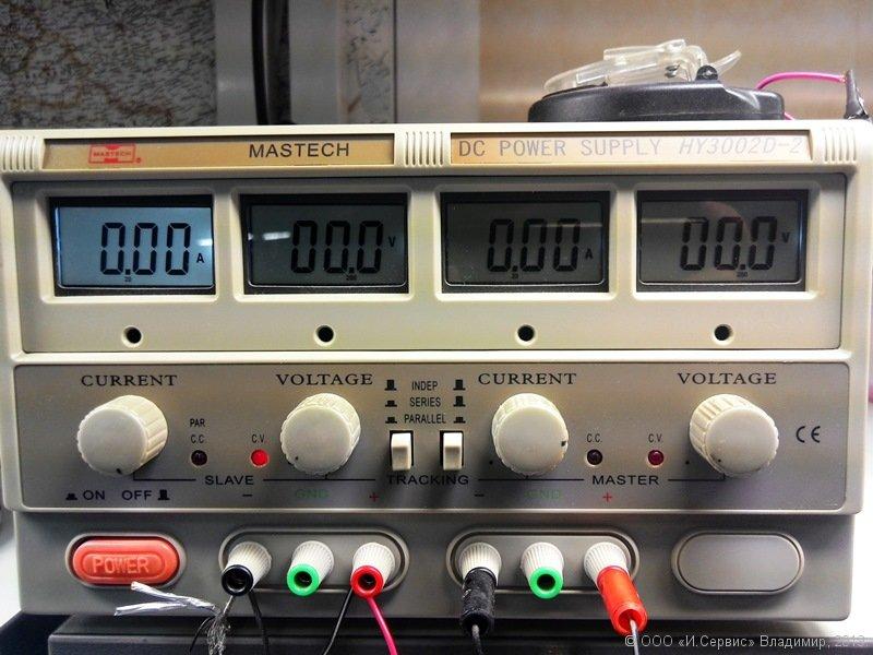 Наше оборудование. Лабораторная блок питания.